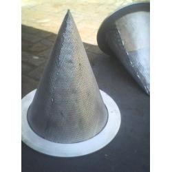 锥形过滤网罩